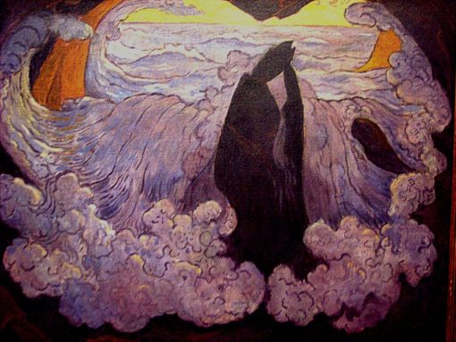 The Violet Wave   Georges Lacombe   Oil Painting