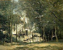 Le moulins de Saint-Nicolas-lez-Arras (Windmills at St-Nicolas-lez-Arras) | Jean Baptiste Camille Corot | Oil Painting