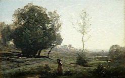 Souvenir des Landes | Jean Baptiste Camille Corot | Oil Painting