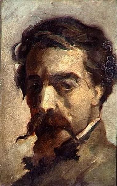 Portrait of the Artist   Jean Baptiste Carpeaux   Oil Painting