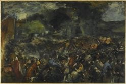 Battle between General Berezowski and Tsar Alexander II (6 June 1867) | Jean Baptiste Carpeaux | Oil Painting