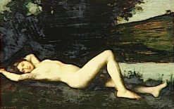 Naïade | Jean Jacques Henner | Oil Painting
