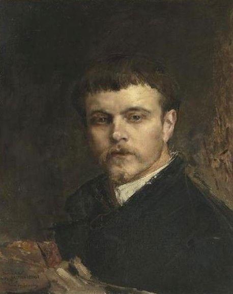 Portrait of the Artist | Jules Bastien Lepage | Oil Painting