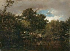 La Vanne | Jules DuprE | Oil Painting