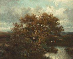 Le chêne (The Oak) | Jules DuprE | Oil Painting