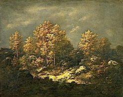 Les hauteurs du Jean de Paris | Narcisse Dìaz de la Peña | Oil Painting