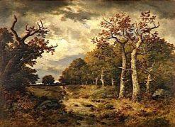 The Forest of Lisiere   Narcisse Dìaz de la Peña   Oil Painting