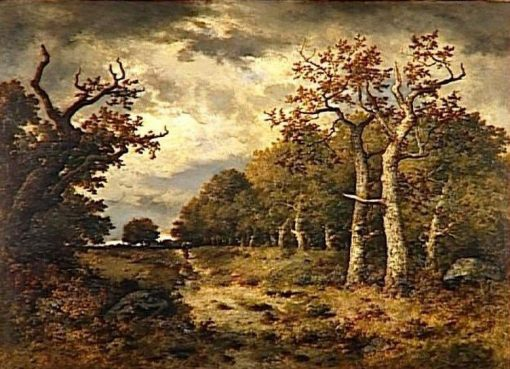 The Forest of Lisiere | Narcisse Dìaz de la Peña | Oil Painting