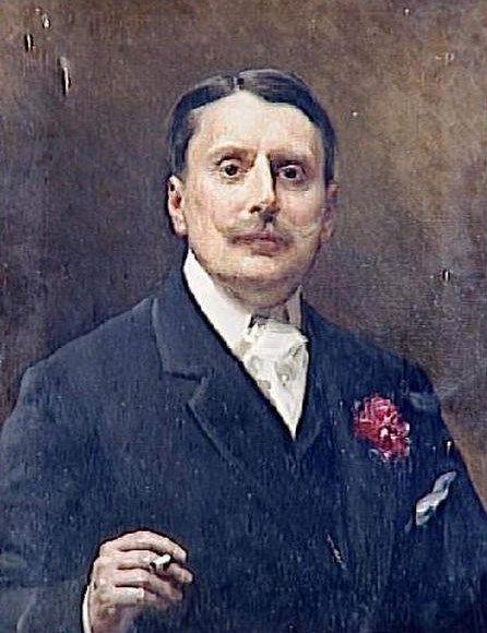 Portrait of Monsieur de Waru | Raimundo de Madrazo y Garreta | Oil Painting