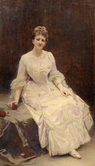 Portrait of Maquise d'Hervey