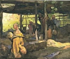 Scene in Morocco | Sir Frank William Brangwyn | Oil Painting
