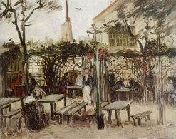 Terrace of a Café (La Guingette) | Vincent van Gogh | Oil Painting