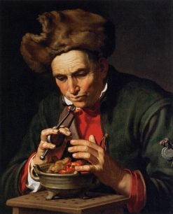 Allegory of Winter (and Love) | Abraham Bloemaert | Oil Painting