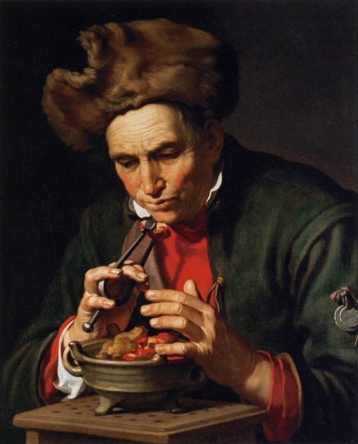 Allegory of Winter (and Love)   Abraham Bloemaert   Oil Painting