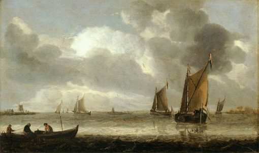 The Silver Seascape | Abraham van Beyeren | Oil Painting