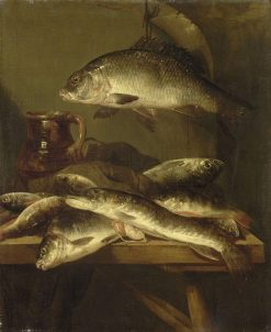 Still Life with Carp | Abraham van Beyeren | Oil Painting