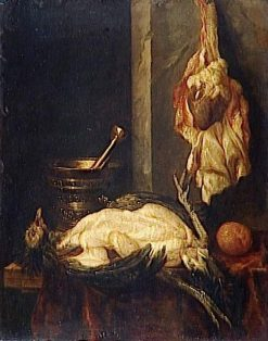 Still Life with Turkey | Abraham van Beyeren | Oil Painting