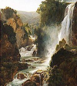 The Cascade | Achille Etna Michallon | Oil Painting