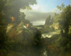 Pirithous et les centaures | Achille Etna Michallon | Oil Painting