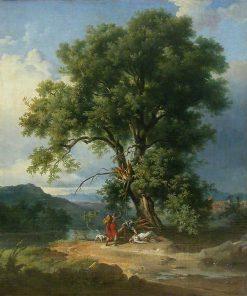 La femme Foudroyée | Achille Etna Michallon | Oil Painting