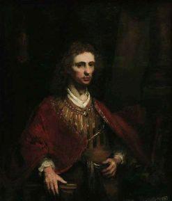 Portrait of a Man in a Red Cloak | Aert de Gelder | Oil Painting