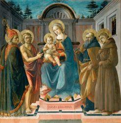 Madonna and Child with Saint Zenobius