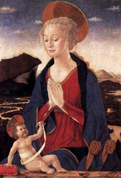 Madonna and Child | Alessio Baldovinetti | Oil Painting