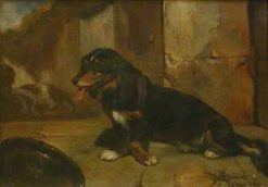 Basset Hound | Alexandre Gabriel Decamps | Oil Painting