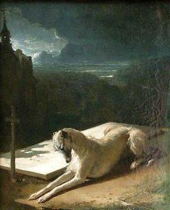 Fidelity | Alfred de Dreux | Oil Painting