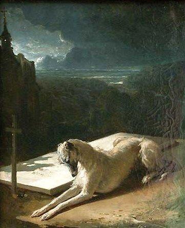 Fidelity   Alfred de Dreux   Oil Painting