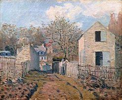 Village de Voisins | Alfred Sisley | Oil Painting