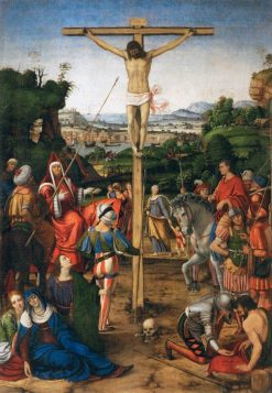 The Crucifixion | Andrea Solario | Oil Painting