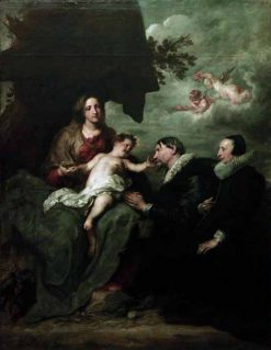 The Madonna of the Donors | Anthony van Dyck | Oil Painting