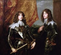 Prince Charles Louis Elector Palatine (1617-1680) and His Brother