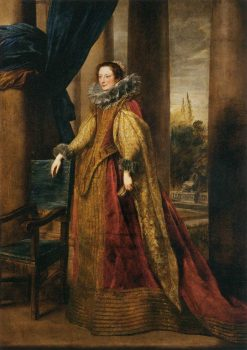 Portrait of a Genoise Noblewoman | Anthony van Dyck | Oil Painting