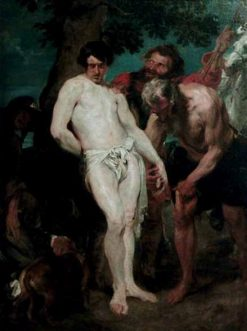 Preparation for the Martrydom of Saint Sebastian | Anthony van Dyck | Oil Painting