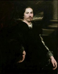 Possible Portrait of Painter Jan Boeckhorst | Anthony van Dyck | Oil Painting