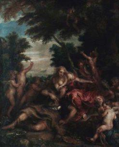 Les amours de Renaud et d'Armide   Anthony van Dyck   Oil Painting