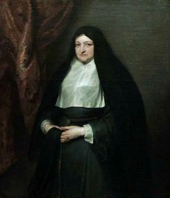 Isabelle-Claire-Eugénie of Austria (1566 - 1633) in Nun's Habit | Anthony van Dyck | Oil Painting