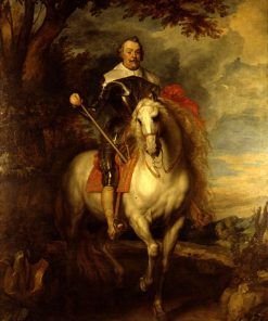 Equestrian Portrait of Don Francisco de Moncada (1586 - 1635) | Anthony van Dyck | Oil Painting