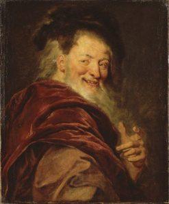 Democritus | Antoine Coypel II | Oil Painting