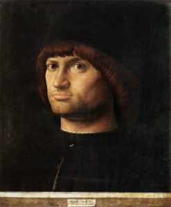 Portrait of a Man(also known as 'Il Condottiere') | Antonello da Messina | Oil Painting