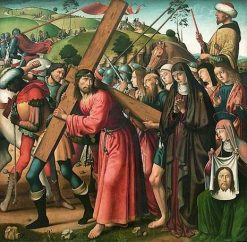 Christ Carrying the Cross | Biagio d'Antonio | Oil Painting