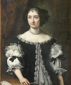 Portrait of Marie-Madeleine Rospigliosi | Carlo Maratta | Oil Painting