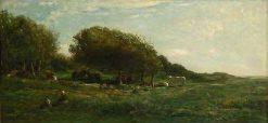 Les Graves de Villerville | Charles Francois Daubigny | Oil Painting