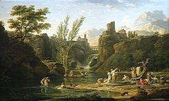 Morning Bathers | Claude Joseph Vernet | Oil Painting