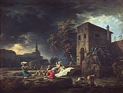 Midday: Storm | Claude Joseph Vernet | Oil Painting