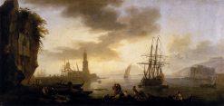 Seascape: Calm | Claude Joseph Vernet | Oil Painting