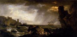 Seascape: Tempest | Claude Joseph Vernet | Oil Painting