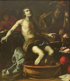 The Death of Seneca | Claude Vignon | Oil Painting
